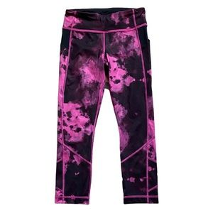 Lululemon Pace Rival Crop Blooming Pixie Raspberry